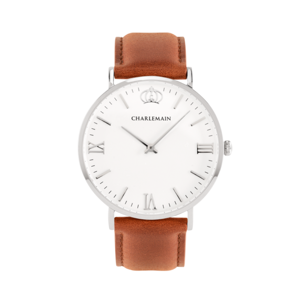 Women-Charlemain-Silber-white-leather-brown