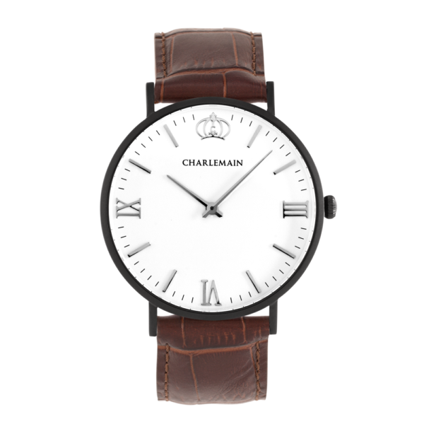 Men-Charlemain-Black-White-leather-darkbrown