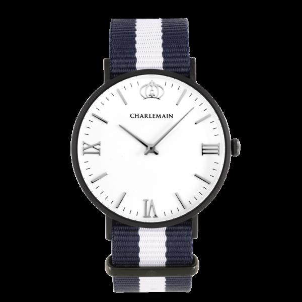 Men-Charlemain-Black-White-Nylon-blue-white-black