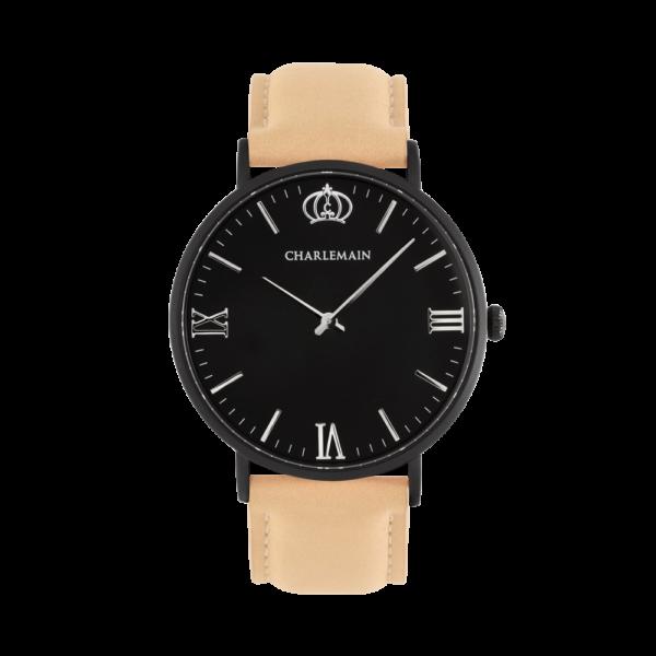 Women-Charlemain-Black-Black-Leather-beige