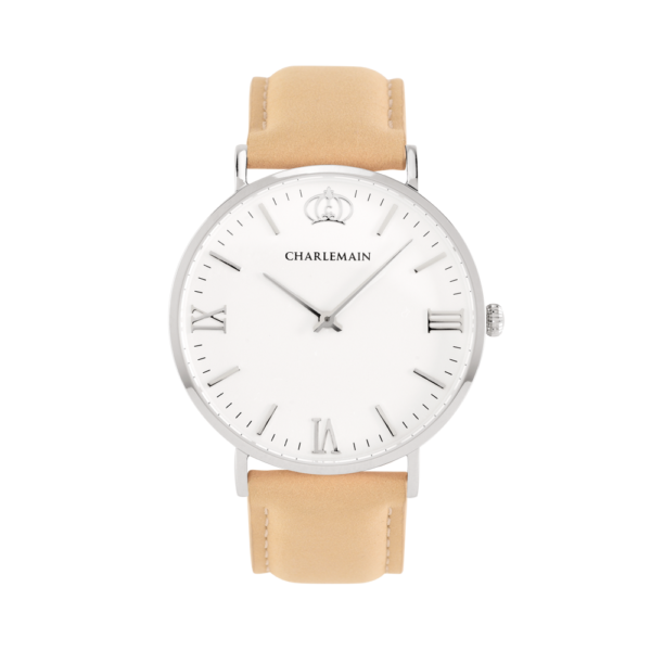Women-Charlemain-Silber-white-leather-beige
