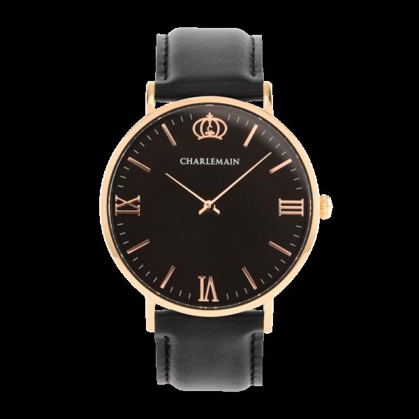 Men-Charlemain-Rose-black-leather-black