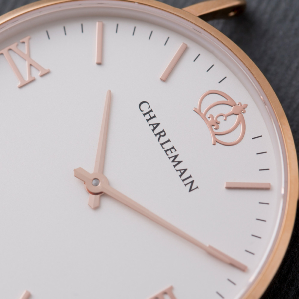 Charlemain-Front-Rosegold-White
